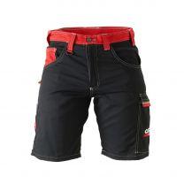 Shorts rot-schwarz