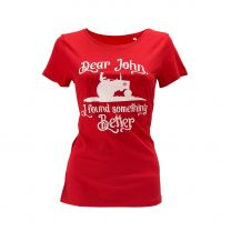 "Damen-T-Shirt ""Dear John…"""